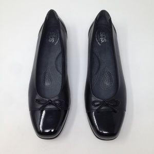 SAS Women Tripad Comfort 9 Black Leather Shoes